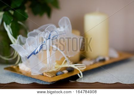 Beautiful Wedding Stocking Suspender Detail