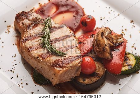 Grilled Pork Loin.