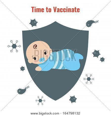Vaccination and health concept. Medical immunization patient healthcare.