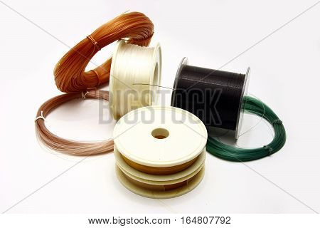 Fishing Line Roll Close Up
