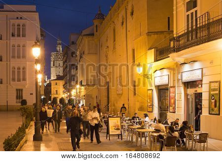 Old Town Street, Valencia, Spain
