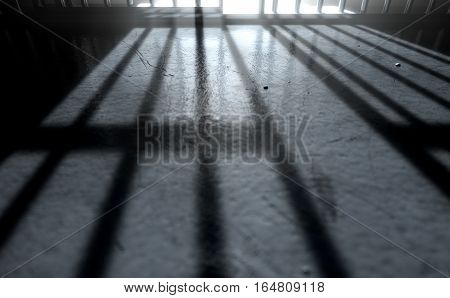 Jail Cell Shadows