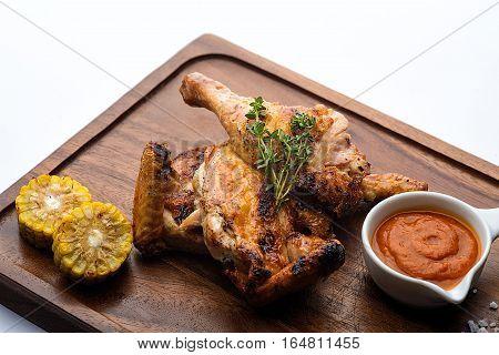 Fried Chicken Thigh.