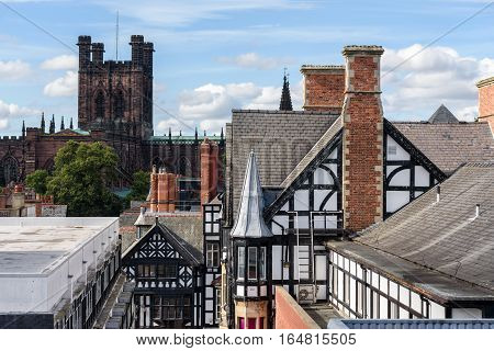 Chester Cathedral is a Church of England cathedral and the mother church of the Diocese of Chester. It is located in the city of Chester Cheshire England.