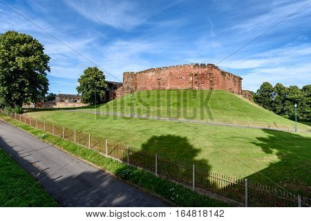 Chester Castle is in the city of Chester Cheshire England. It is sited at the southwest extremity of the area bounded by the city walls.