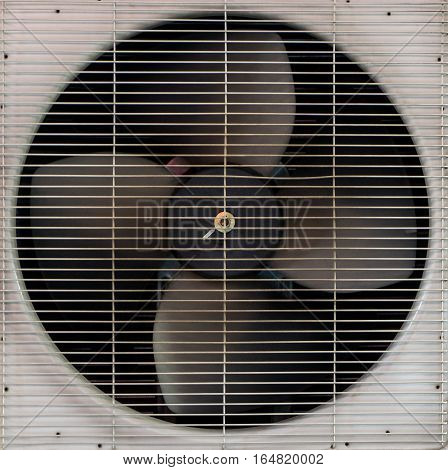 Air Conditioner roation spinning Ventilation Fan  system