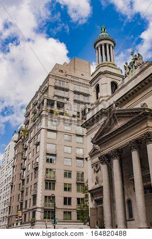 St. Jean Baptiste Roman Catholic Church In New York