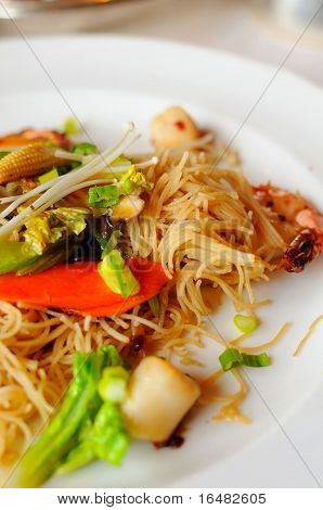 Elaborate Asian Dry Noodles