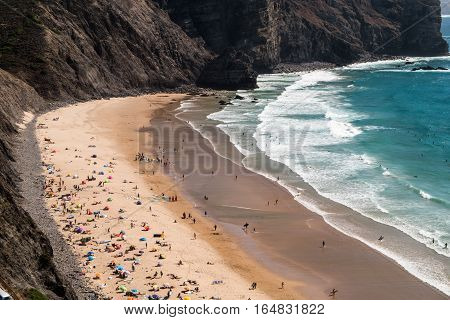 Portugal - Sunbathing On The Beach