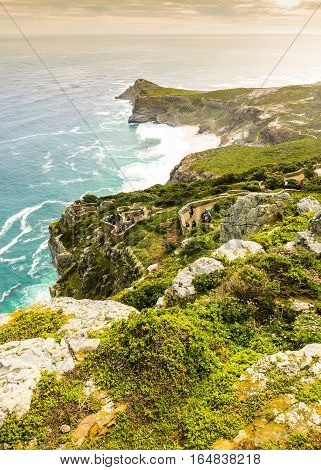 Cape Point Peak In South Africa