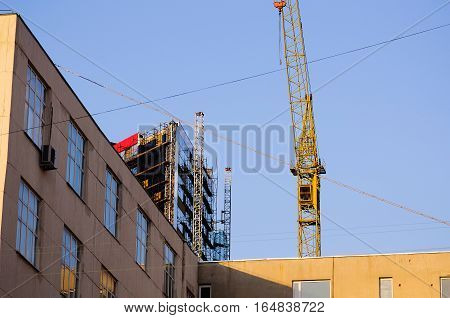 Tower Crane, Construction Machinery