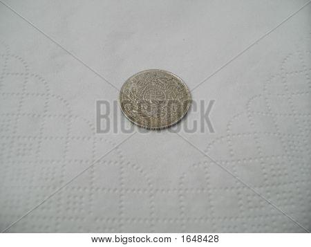 Deccan Coin Four Annas - Tail Side