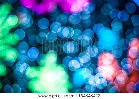 blurred abstract background underwater bokeh with bubbles marine life and coral reef for use at graphic design