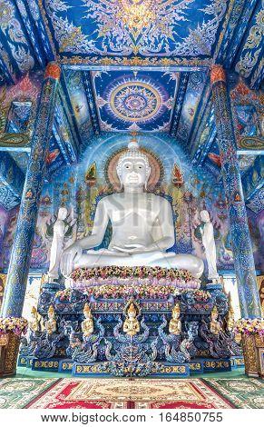 Rong Sua Ten temple Chiangrai Province Thailand