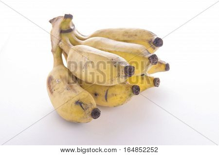 Cutting Ripe Banana