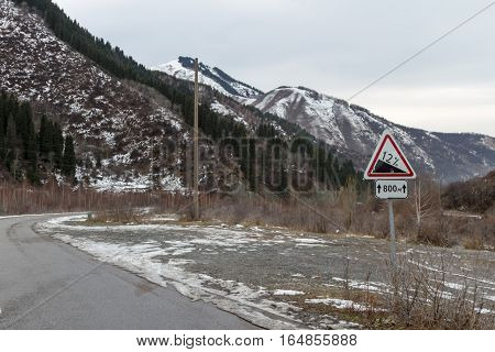 Signs Of A Steep Slope, And Distance
