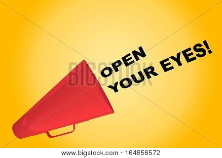 Open Your Eyes! Concept