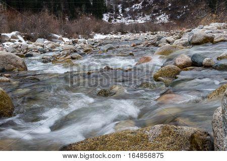 Rapids Mountain River