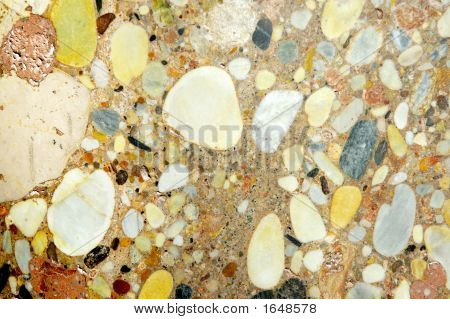 Texture of stone's marble coarse-grained very colorful. Pastel colors. Focus mainly on left part of image. poster