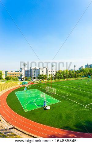 Korea University Artificial Turf Athletic Field V