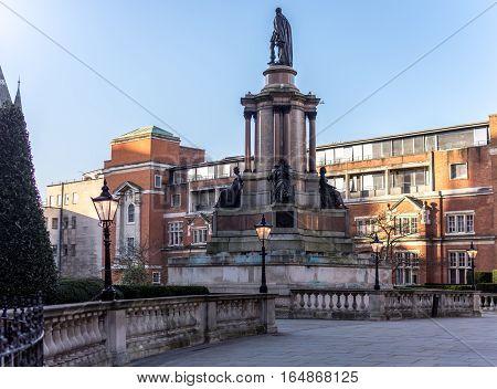 Royal Albert hall front entrance in south Kensington, London