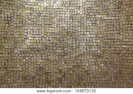 Mother-of-pearl rectangular mosaic tile oriental style background