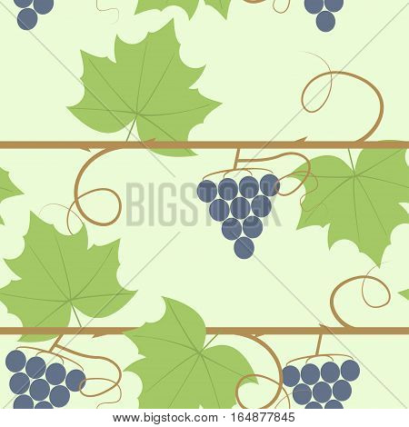 Grape Berry Leaf Pattern