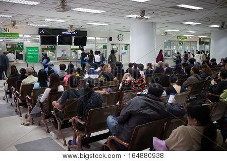 Sick People In Hospital Maharaj Nakorn Chiang Mai