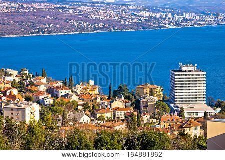 Town Of Opatija And Kvarner Bay