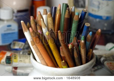 Old Colored Pencils