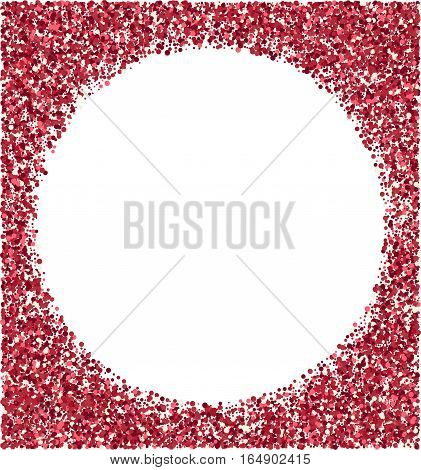Vector abstract red shiny background Vector illustration
