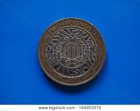 2 Pounds Coin, United Kingdom