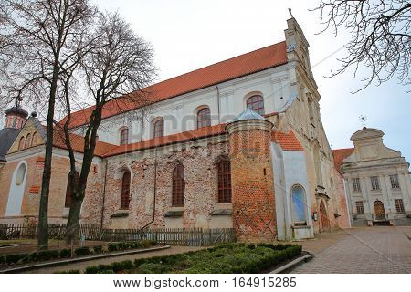 VILNIUS, LITHUANIA: Franciscan Church of the Assumption of the Blessed Virgin Mary