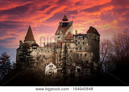 Bran Castle Transylvania Romania known as