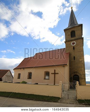 Katholische Filialkirche Heiliger Geist (catholic Subsidiary Church Holy Spirit) In Schlossberg (hei