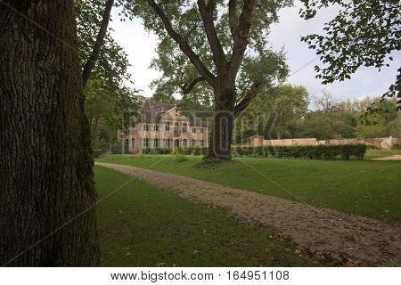 Appelhof, A Rococo Manor Officially Listed As Monument, Near Allersberg In Bavaria