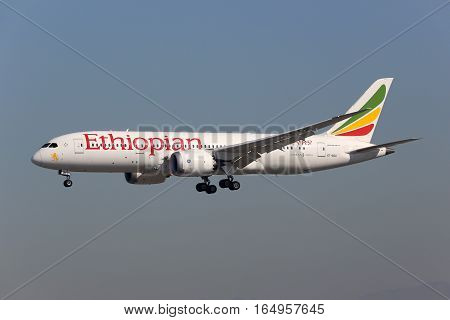 Ethiopian Airlines Boeing 787 Dreamliner Airplane