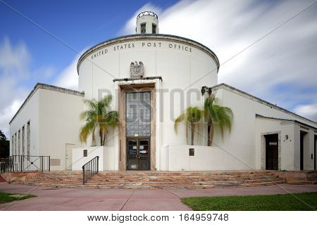 Historical United States Post Office Miami Beach FL