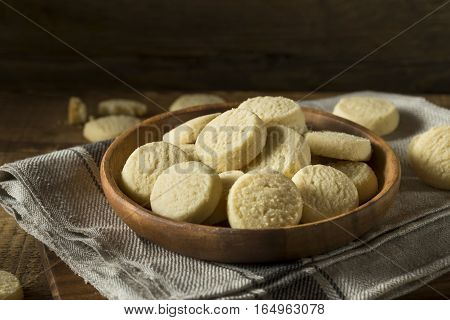 Homemade Sweet Shortbread Cookies