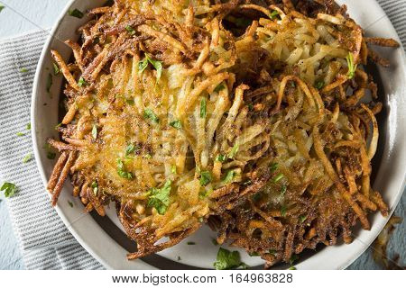 Homemade Traditional Potato Latkes