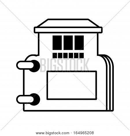 real estate directory catalog symbol outline vector illustration eps 10