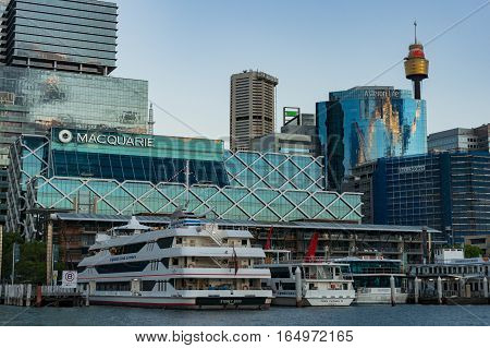 King Street Wharf With Sydney Central Business District Skyline