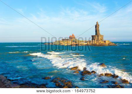 Kanyakumari Vivekananda Thiruvalluvar Statue Day H