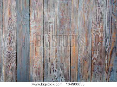 Photo which shows a fence made of wood
