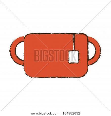 mug tea hot hang breakfast sketch vector illustration eps 10