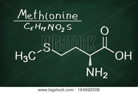 Structural Model Of Methionine