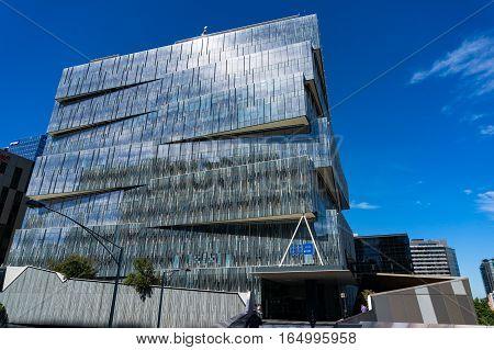 Channel Nine Building In Docklands, Melbourne, Victoria, Australia