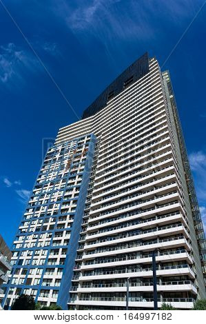 Victoria Point, Micm Real Estate Building In The Docklands