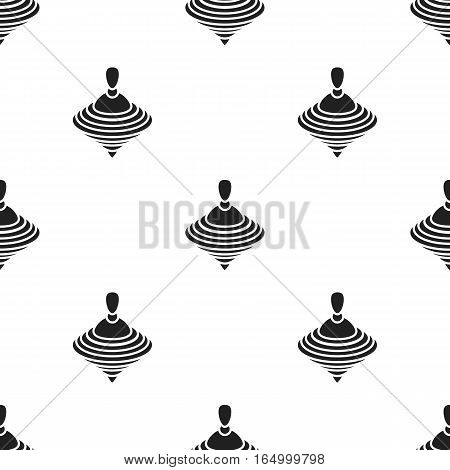 Whirligig black icon. Illustration for web and mobile.