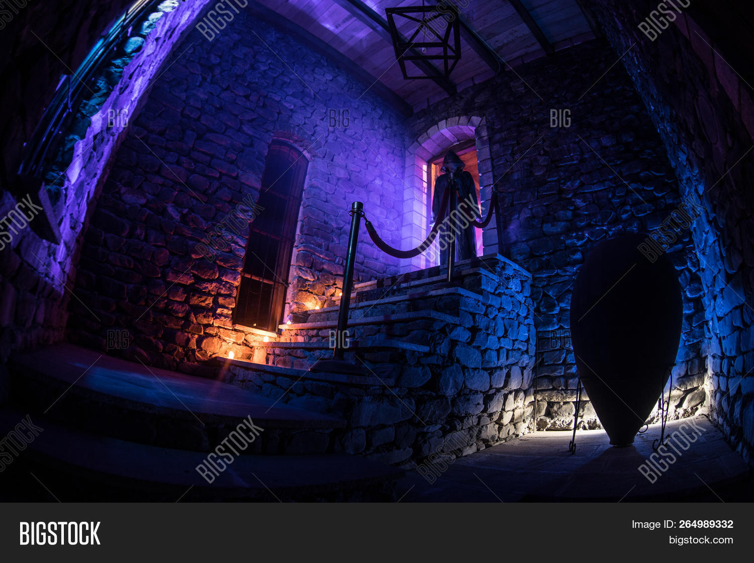 Inside Old Creepy Image Photo Free Trial Bigstock